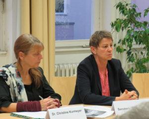 Veranstaltung mit Senatorin Elke Breitenbach