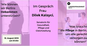 Wie können wir Berlins Hebammen unterstützen?