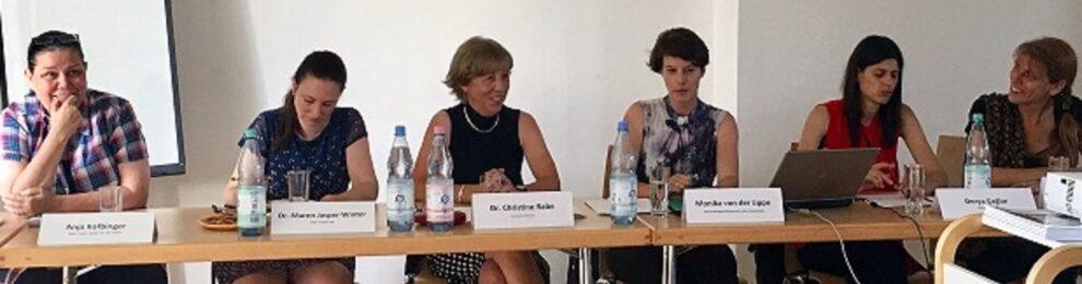 Beitrag zur Veranstaltung:<br>Ein Paritätsgesetz- kann und will Berlin von Brandenburg lernen? (2019)