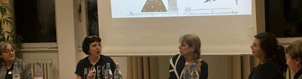 Beitrag zur Veranstaltung: <br>-30 Jahre Mauerfall-<br> aus Sicht von Ost-Berliner Frauen (2019)
