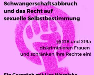 -November- Schwangerschaftsabbruch §§ 218 und 219a